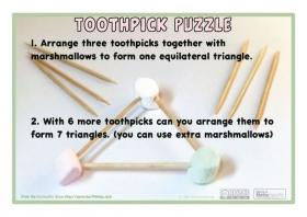Preview of Toothpick Puzzle