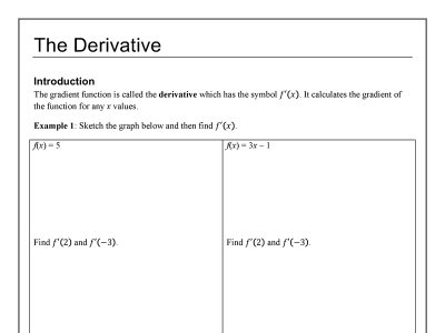 Screenshot of 2U Differentiation Notes