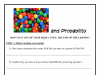 Screenshot of M&Ms and Probability