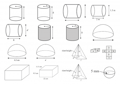 Screenshot of Surface area - diagram library