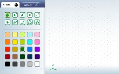 Screenshot of Isometric Drawing Tool