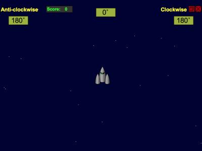 Screenshot of Asteroids