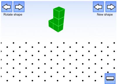 Screenshot of Isometric Shape Draw