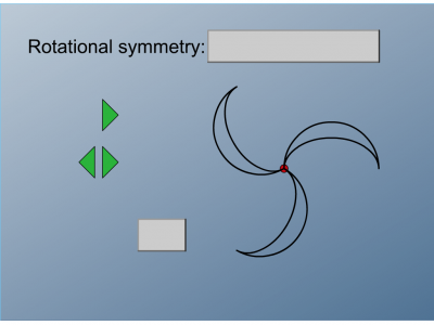 Screenshot of Rotational Symmetry