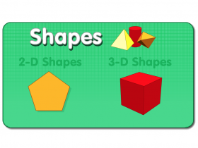Screenshot of 3-D Shapes