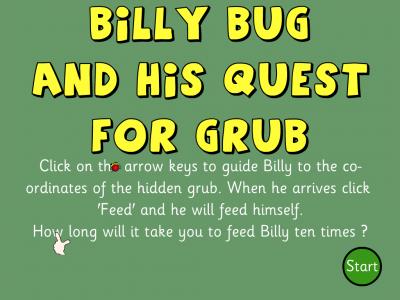 Screenshot of Billy Bug (1st quadrant)