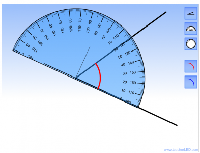 Screenshot of Angle Measure