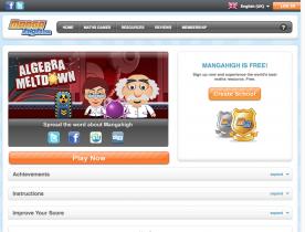 Screenshot of Algebra Meltdown