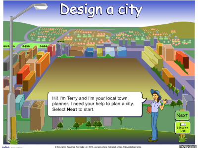 Screenshot of Design a city