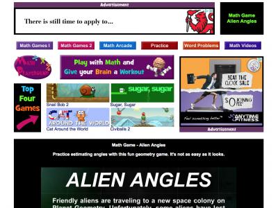 Screenshot of Alien Angles