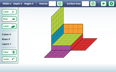 Screenshot of Cubes