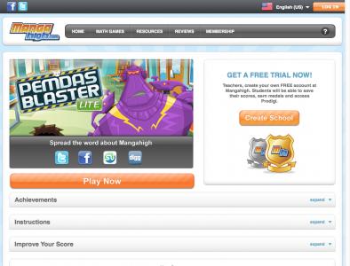 Screenshot of BIDMAS Blaster Lite