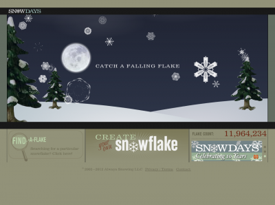 Screenshot of Popular Front Snowdays