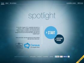 Screenshot of ABS Spotlight