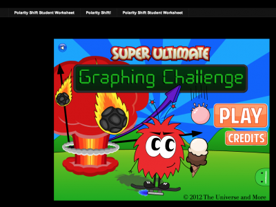 Screenshot of Super Ultimate Graphing Challenge