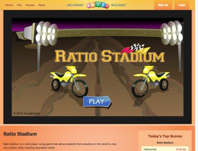 Screenshot of Ratio Stadium