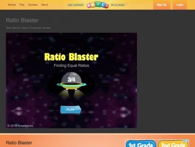 Screenshot of Ratio Blaster