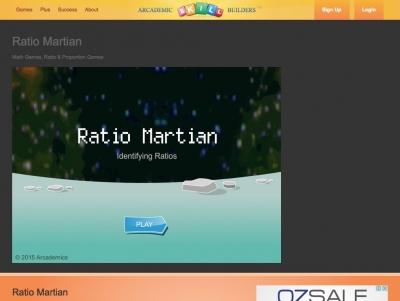 Screenshot of Ratio Martian