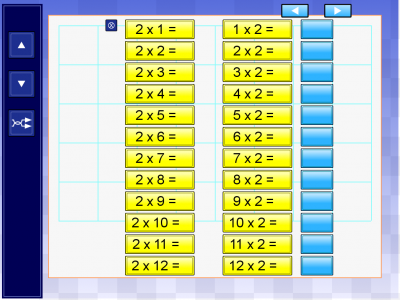 Screenshot of Times Tables (TeacherLED)