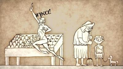 Screenshot of How taking a bath led to Archimedes' principle - Mark Salata