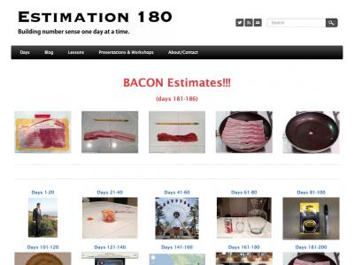 Screenshot of Estimation 180