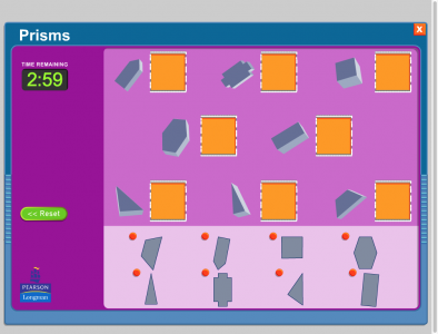 Screenshot of Prisms - match
