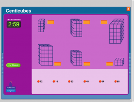 Screenshot of Centicubes - match