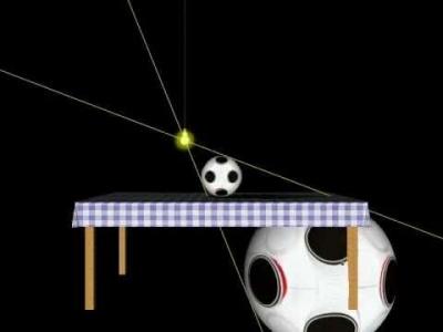 Screenshot of Conic sections - Dandelin spheres