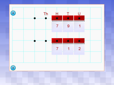 Screenshot of Number Flip