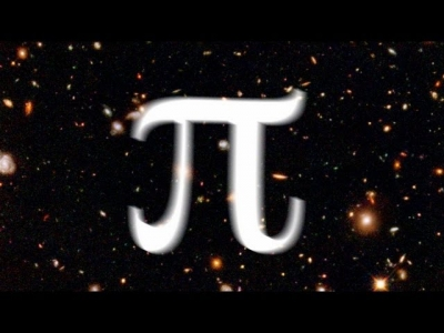 Screenshot of Pi and the size of the Universe - Numberphile