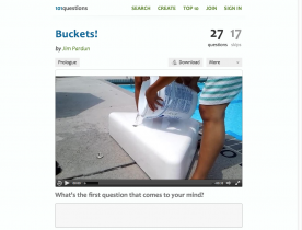 Screenshot of Buckets!