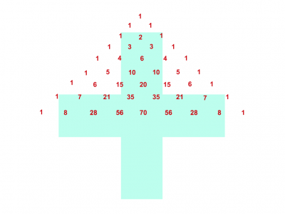 Screenshot of Pascal's Triangle