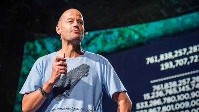 Screenshot of Adam Spencer: Why I fell in love with monster prime numbers