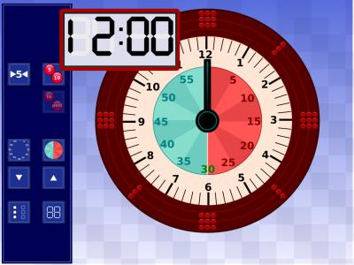 Screenshot of IWB Clock