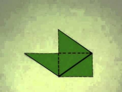 Screenshot of Area of a Rhombus (deriving visually)