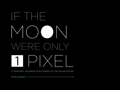 Screenshot of If the Moon were only 1 pixel