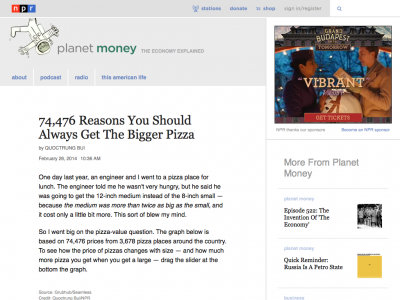 Screenshot of 74,476 Reasons You Should Always Get The Bigger Pizza