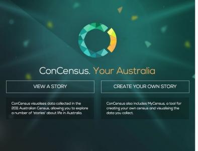 Screenshot of ConCensus - ABC Splash