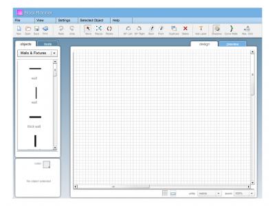 Screenshot of Floor Planner