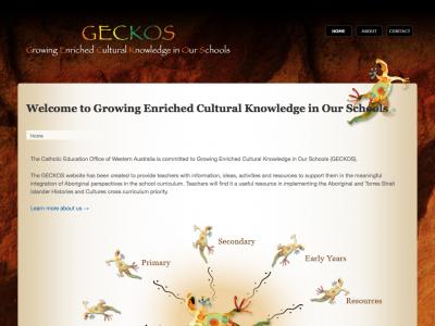 Screenshot of GECKOS