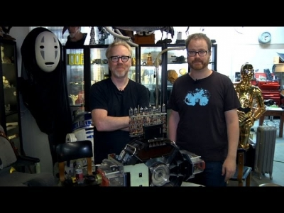 Screenshot of Inside Adam Savage's Cave: Geeking Out about Bits and Bytes