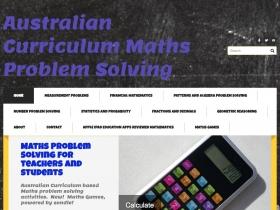 Screenshot of Mathematics Problem Solving