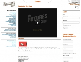 Screenshot of 'Designing Toy Cars' - by the Futures Channel