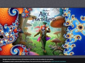 Screenshot of Alice in FractalLand