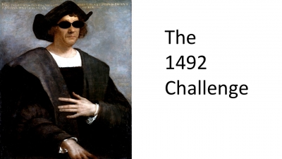 Screenshot of The 1492 Challenge