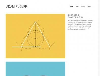 Screenshot of Geometric Construction