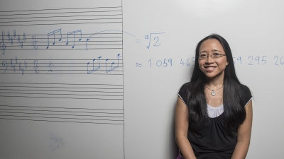 Screenshot of Music and Mathematics