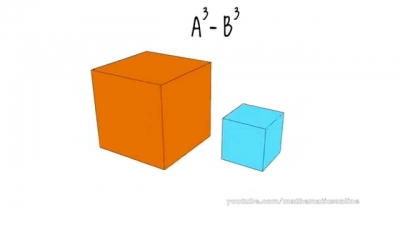 Screenshot of Difference of Cubes Formula Explained