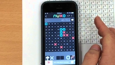 Screenshot of Index Noughts & Crosses