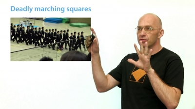 Screenshot of Deadly Marching Squares